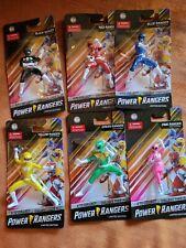 power rangers 6 lot action figures 3 inch cake toper small pocket set hasbro