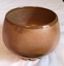 Frankoma 235 Desert Gold Footed Bowl ~Dish ~ Vase