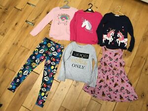 4 x long sleeve top LOL dress MY LITTLE PONY leggings age 7-8 years bundle llama