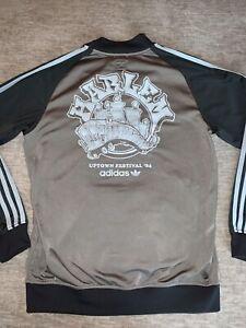 Adidas Harlem Uptown Festival '84 Full Zip Track Jacket Sz M