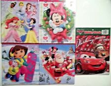 Disney Princess Minnie Mickey Mouse Cars Dora the Explorer Holiday Puzzles