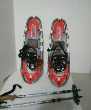 FABER SNOW MOUTAIN 826 SNOWSHOE SET WIT POLES,CARRYING BAG & SHOES *NEVER USED*
