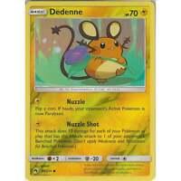 Pokemon TCG: Dedenne - 84/214 - Common Reverse Holo Card - SM8 Lost Thunder