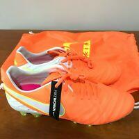 NIKE WOMEN TIEMPO LEGEND VI FG ACC FOOTBALL BOOTS CLEATS SIZE UK 6  - 819256-817