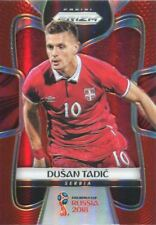 Prizm World Cup 2018 Red [149] Parallel Base Card #181 Dusan Tadic - Serbia