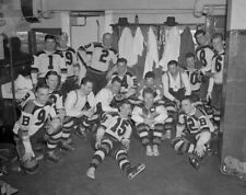 Boston Bruins 1939 Stanley Cup Champs - 8x10 Team Celebration Photo