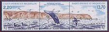 SAINT PIERRE ET MIQUELON N°495A** Bande Oiseaux TB, 1988 SPM Birds Strip MNH