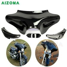 Motorcycle Front Outer Batwing Fairing For Harley Softail Fat Boy Road King FLHR