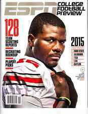 2015 ESPN College Football Preview Cardale Jones Ohio State Buckeyes REGIONAL