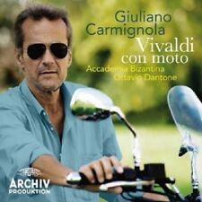 Giuliano Carmignola/Dantone/Accademia Bizantina-Vivaldi con moto CD NUOVO