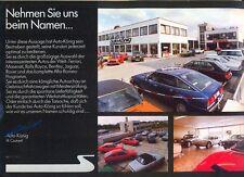Maserati Khamsin Kyalami Merak Quattroporte - Auto-Koenig - full pack 1978/79