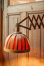 Scandinavian Hans-Agne Jakobsson Pine Bentwood Scissors Table Desk Light 1960s