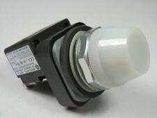 Allen-Bradley 800TC-QH2K LED Pilot Light 12-130V White Glass Lens ! WOW !