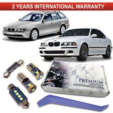 BMW E38 E39 LED Interior Kit Full 18 SMD White Error Free Bulbs 5er 7er Canbus