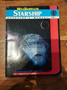Starship Operator's Manual Vol 1 - MegaTraveller 1988 - VG+