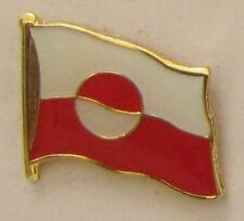 Grönland Pin Anstecker Flagge Fahne Flaggenpin Badge Button Clip Anstecknadel