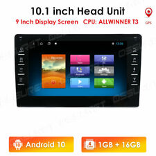 "10.1"" 2 Din Car Radio WiFi Android 10 Stereo GPS Bluetooth MP5 Player Quad Core"