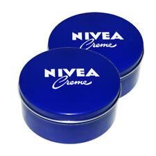 Genuine Authentic Original German Nivea Cream Metal Tin 8.45fl oz, 250ml -2 pack
