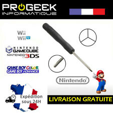 Tournevis Y tri wing 2.0 mm Nintendo Wii DS DSL DSC GBA SP GAME CUBE