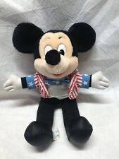 New listing Walt Disney World Mickey Mouse Uncle Sam Toy Plush Collectible 4th Of July