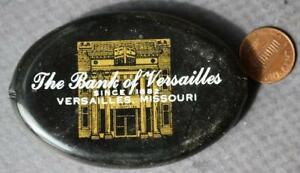1970-80s Era Versailles Missouri Bank rubber coinpurse- Since 1892-VINTAGE COOL!