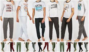 2pc Men's PJ night causal lounge wear long short hot style sleepwear Leggings UK