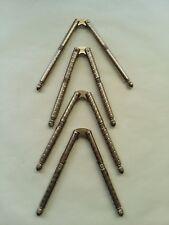 Set of 4 Vintage HMQ Metal Nutcrackers