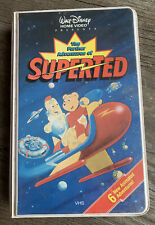 Vintage Walt Disney Home Video VHS Clamshell The Further Adventures of SuperTed