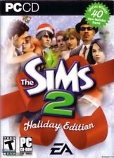 Sims 2 Holiday Edition Windows PC Computer Game -- with 76-page guide AND CD-key