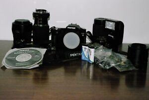 Pentax K110D DSLR Camera Package