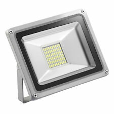 30W Kaltweiß LED Fluter Strahler Scheinwerfer Flutlicht Außen Lampe IP65 SMD 12V