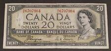 1954 - Devil's Face $20 Dollar Bill Canada Banknote