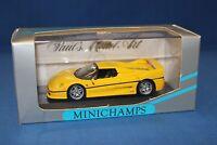 Minichamps Ferrari F 50 1995 - Yellow 1:43 Scale 430 075151