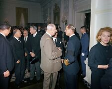 Charles de Gaulle and Prince Philip at President Kennedy funeral New 8x10 Photo