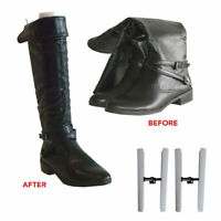 1 Pair Boot Shaper Plastic Boot Stand Tree Stretcher Supporter Holder Storage !