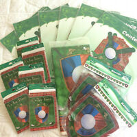 Lot 15 Hallmark GOLF PARTY Decorations Centerpiece Invitations Tablecloth Banner
