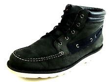 Timberland Newmarket Moc Toe Boots black Size 10 USA.