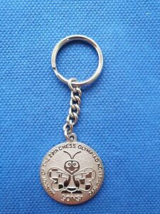 keychain key holder 29th CHESS OLYMPIAD NOVI SAD 1990 90 Olympics Yugoslavia