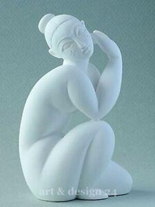 """AMEDEO MODIGLIANI - Museums Skulptur in Geschenkarton - """"Nu féminin assiss"""" NEU!"""