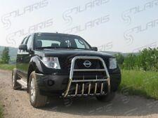Nissan Navara 2006-2010 | FRONT HIGH BULLBAR , BULL BAR , A-BAR , STAINLESS STEE