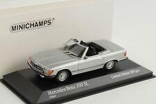 1974 Mercedes-Benz 350 SL R107 silber 1:43 Minichamps