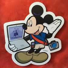 """Disney Cast Member Only """" Mickey Mouse """" Magnet New"""