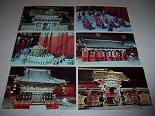 1960s NIKKO JAPAN MINIATURE REPLICAS ROOSEVELT FIELD MALL LI. NY. POSTCARD LOT 2