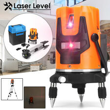 Automatic Self Leveling 5 Line 6 Point 4V1H LaserLevel 360° Measure + Tripod