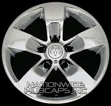 "4 CHROME Dodge Ram 1500 Truck 17"" Wheel Skins Hub Caps 5 Spoke Alloy Rim Covers"