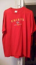 NFL KC.CHIEFS KANSAS CITY CHIEFS RED TSHIRT SIZE LARGE/LRG/L KC.CHIEFS SZ.L