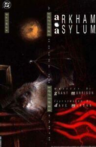 Arkum Asylum by Grant Morrison (1989, Hardcover)