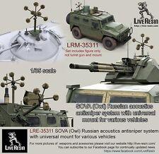 Live Resin 35311 1/35 SOVA (Owl) Russian Acoustics Anti-Sniper System