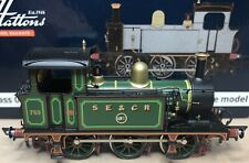 Hattons H4-P-002 SECR P Class Full Lined Green (withe Brass) By Dapol DCC Ready