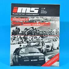 DDR Illustrierter Motorsport IMS 9/1989 Schleizer Dreieck Moto-Cross Speedway J